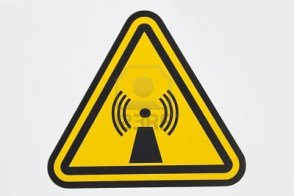 Wireless-radiation-sign--seen-by-the-cellular-tower